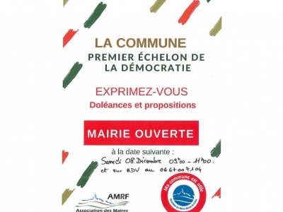 Action Mairie ouverte